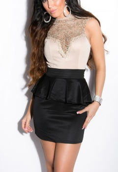 ooKouCla_minidress_with_lace_on_chest__Color_BIEGEBLACK_Size_L_0000IN50176_BEIGESCHWARZ_1_2