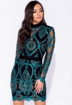 sequin-lace-front-high-neck-long-sleeve-mini-dress-p5882-176427_medium