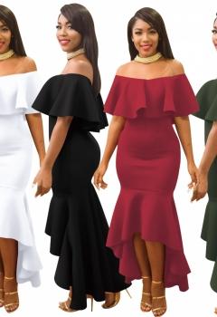 Plain-Color-Ruffle-Off-Shoulder-Mermaid-Evening-Dress-25399-4-25399-4-3