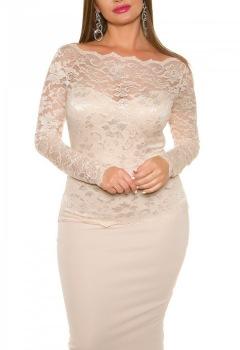 iiGirls_Size_Sexy_KouCla_Midi-Dress_with_lace__Color_BEIGE_Size_20_0000K18406C_BEIGE_4