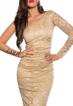 ooKouCla_one-arm_lace_midi_dress__Color_BEIGE_Size_12_0000K18403_BEIGE_1