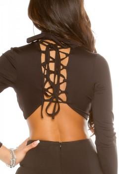 ooKouCla_Long_Sleeve_Crop_Shirt_laced__Color_BLACK_Size_XS_0000T19213_SCHWARZ_19