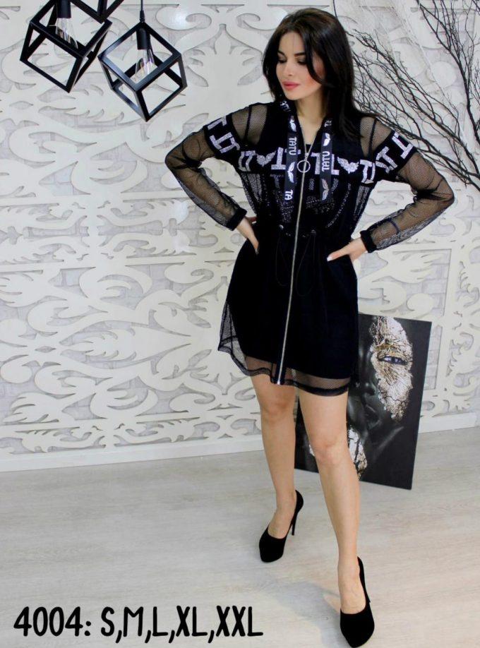 4004 black-white mini dresses wholesale